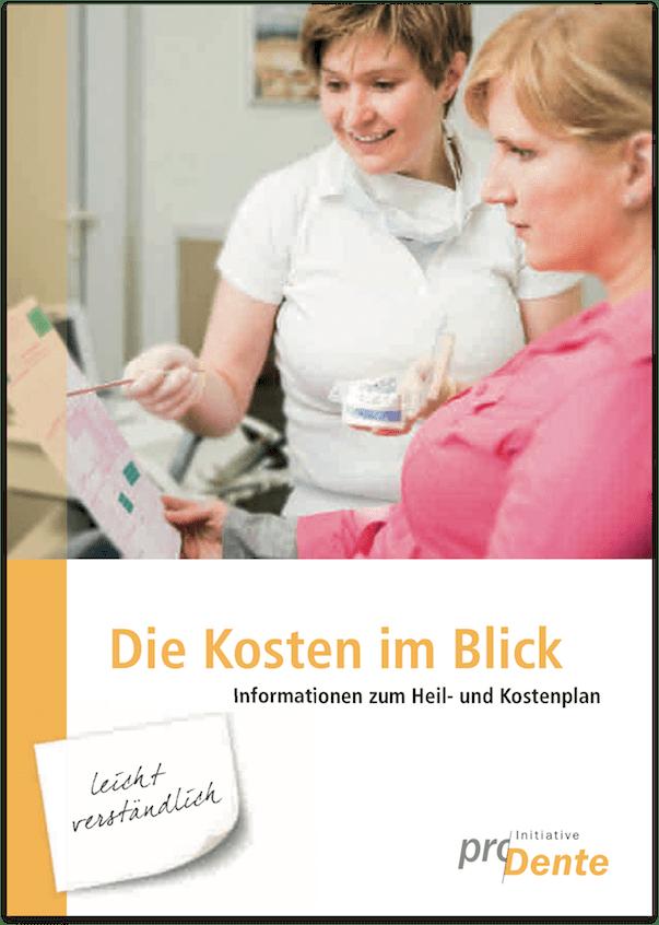 Faltblatt Heil- und Kostenplan (HKP)