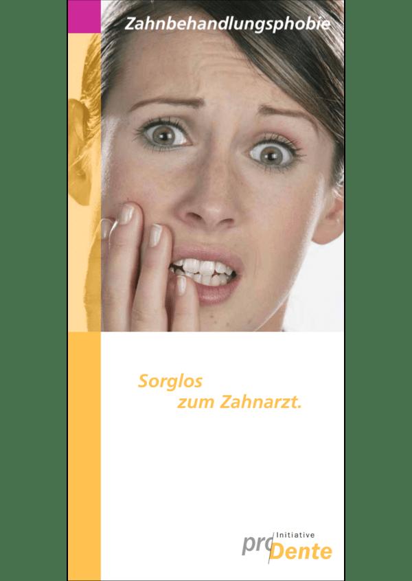 Broschüre Zahnarztangst, Angstpatienten